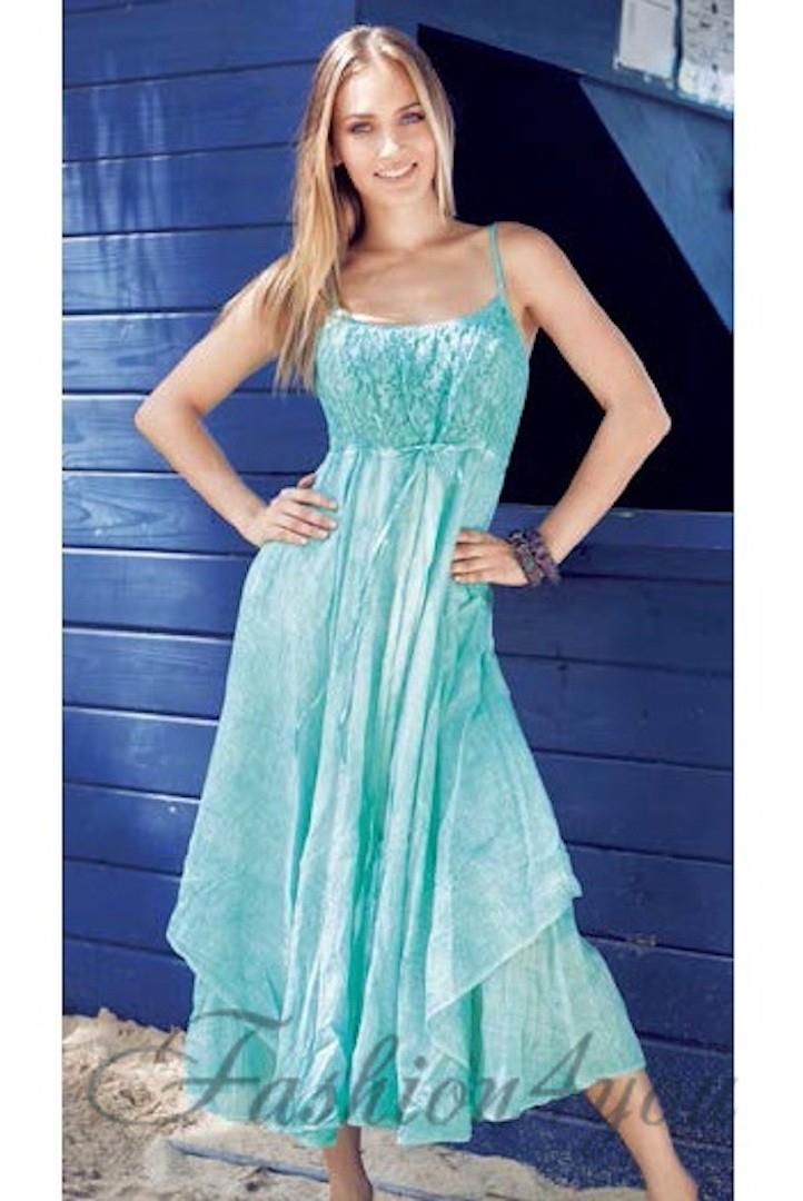 f08164bb79e Летние платье сарафан с гипюром Iconique KF 5161 M - фото №1