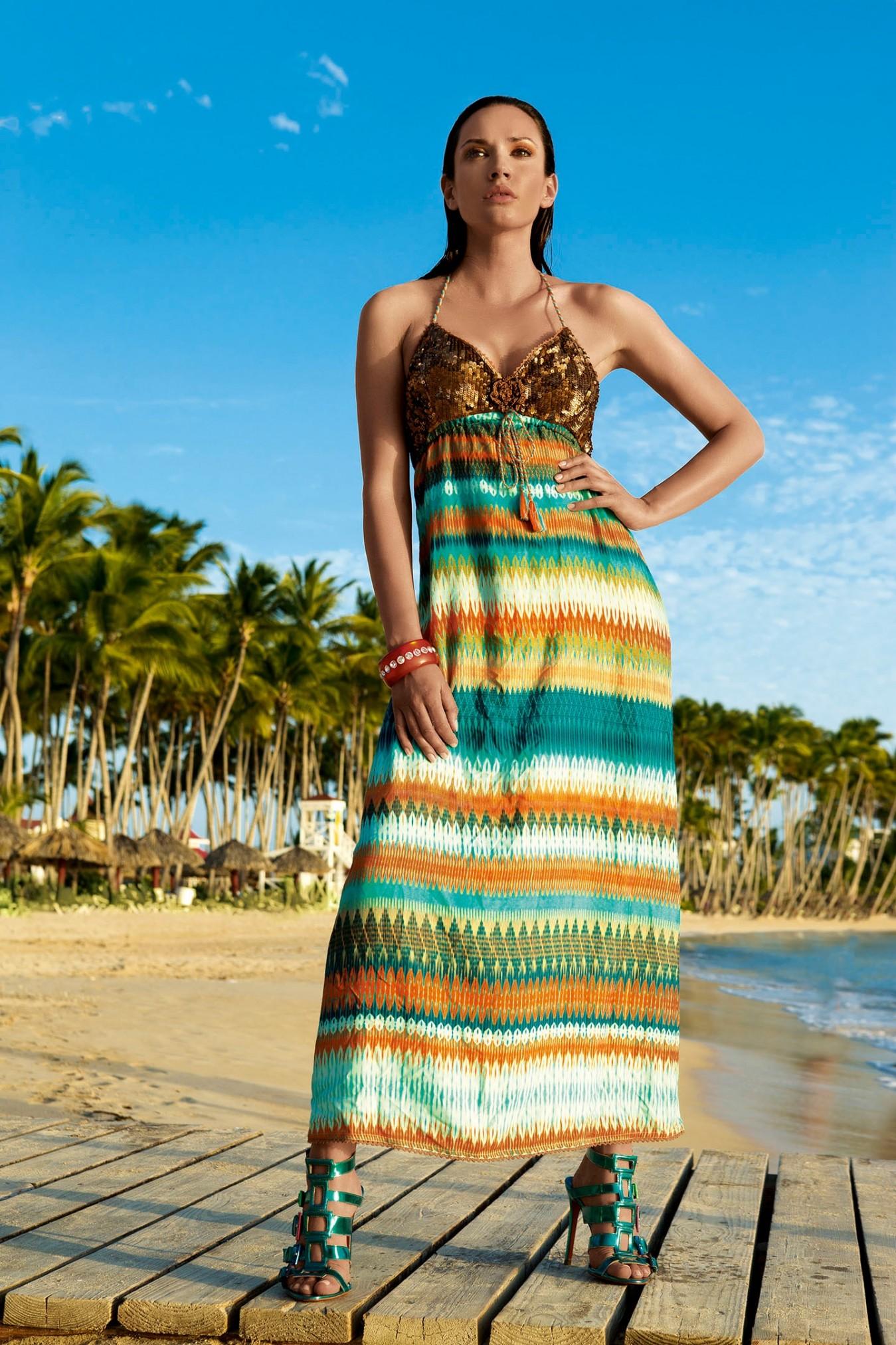 9606b1b452d Летний пляжный сарафан для девушек Vacanze Italiane VE 6032 - фото №1