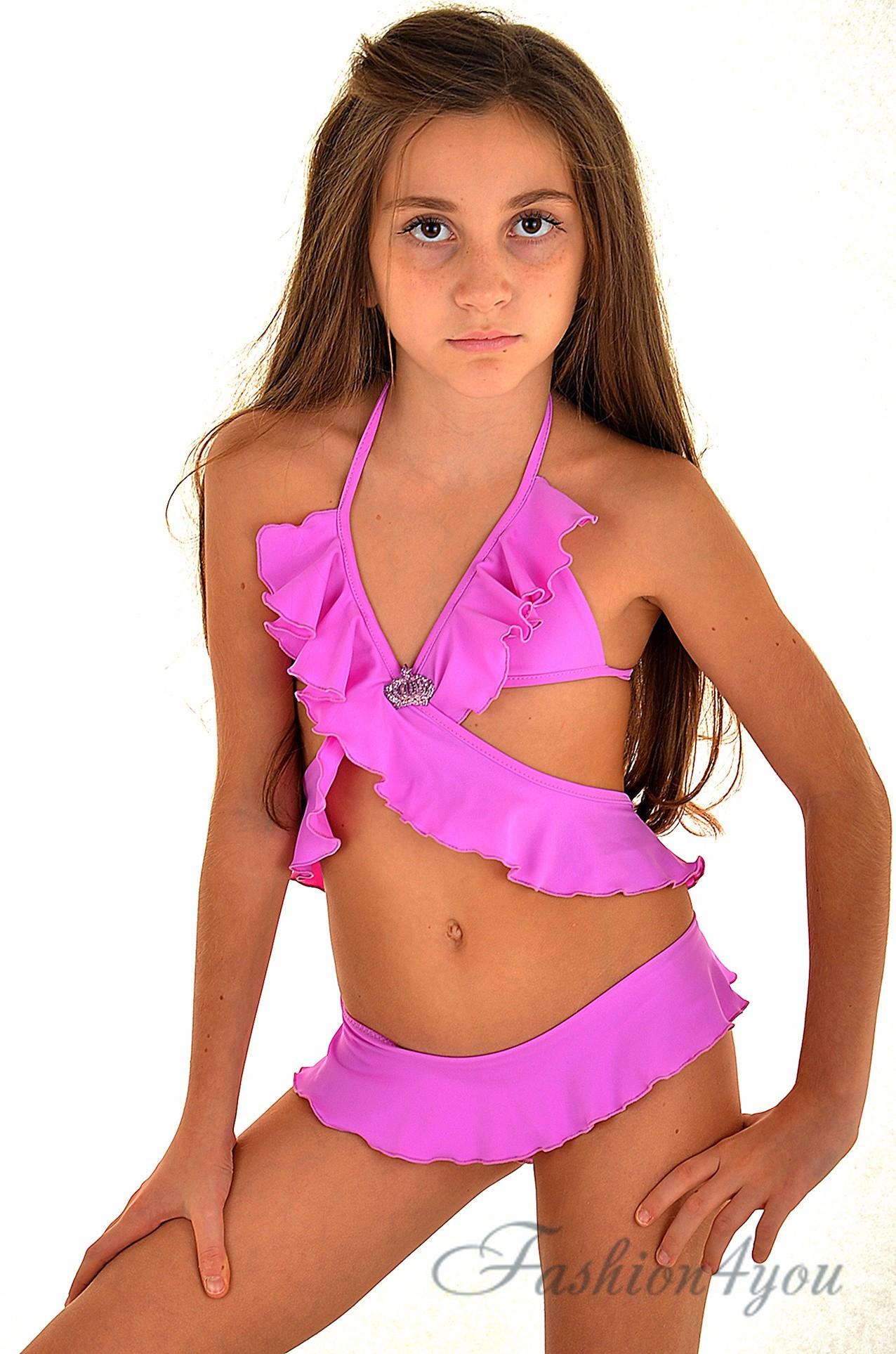 d5710a203a6f6 Детский купальник монокини для девочки BAEL Медуза 5512 - фото №4