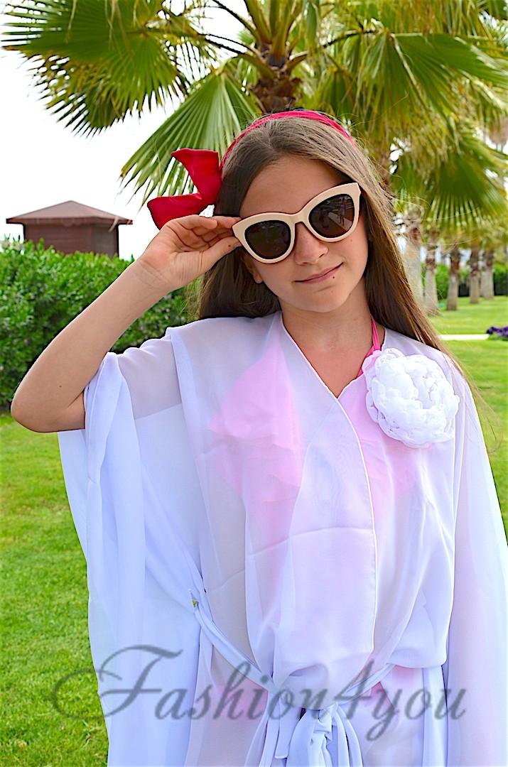 828b8f4ecc43b Пляжная накидка для девочек BAEL 5528 B - фото №2