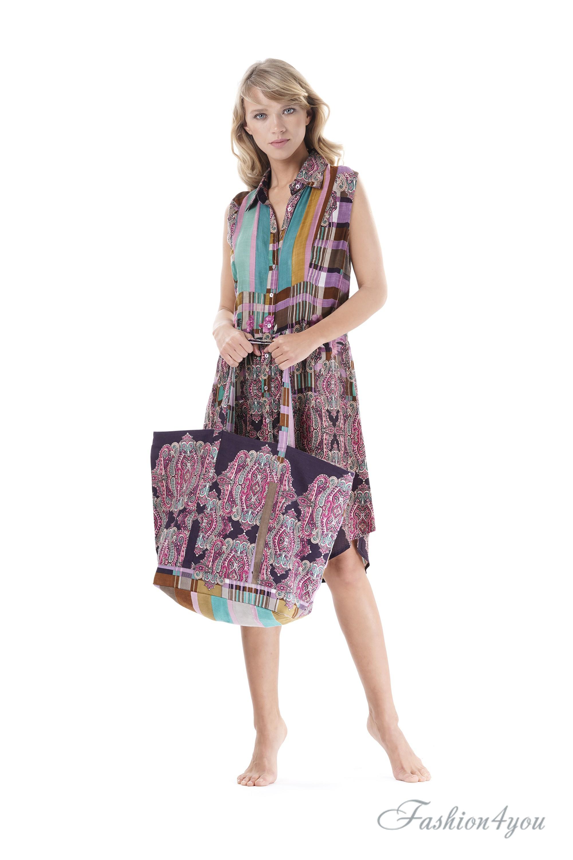 622d52751004 Женская пляжная сумка Iconique IC9-112 - фото №2
